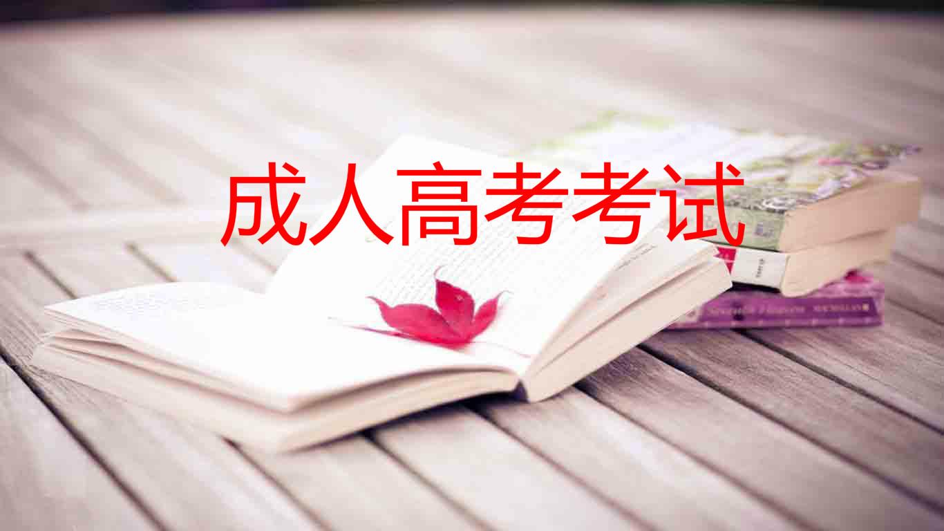湖南成人高考考试